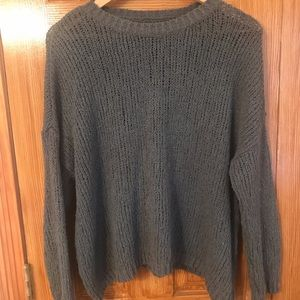 Aerie Olive Green Sweater